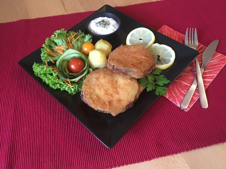 Rezept Zucchini Cordon Bleu mit Sauce Tartare