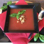 Rezept Kalte Tomate-Pfirsichsuppe