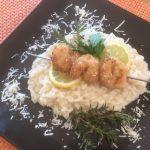 Rezept Zitronenrisotto mit Meeresfrüchten
